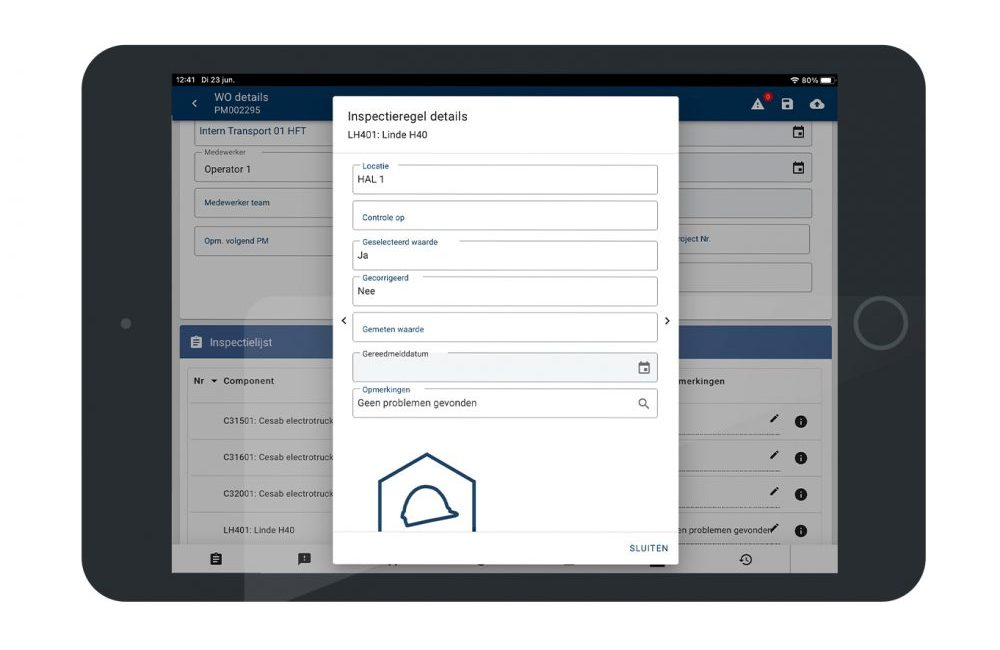 Nieuwe features! Historie inzien op inspectieregel in de Digitale Monteur