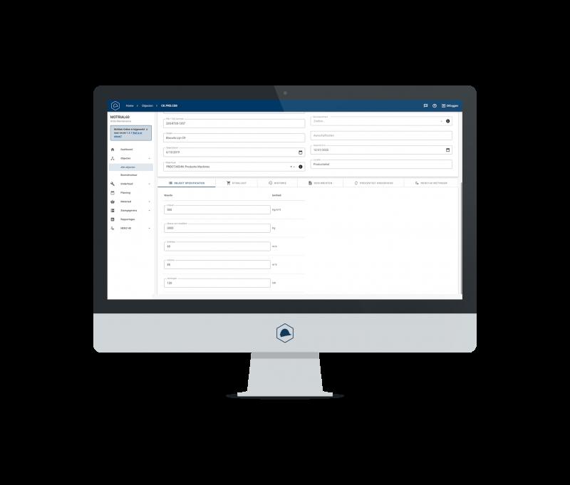 McMain Online Onderhoudssoftware