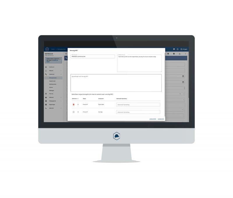 Asset managment software: vervolgwerk