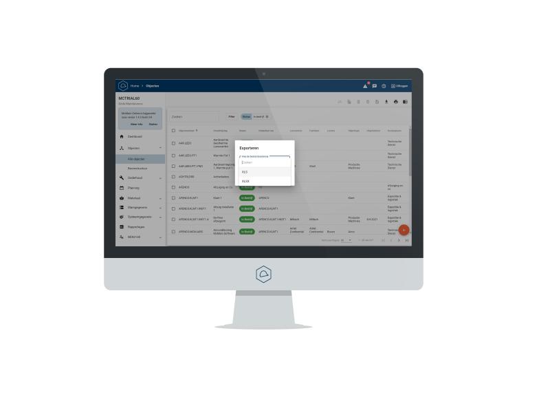 Nieuwe features! Excel exporteren en meer in McMain Online